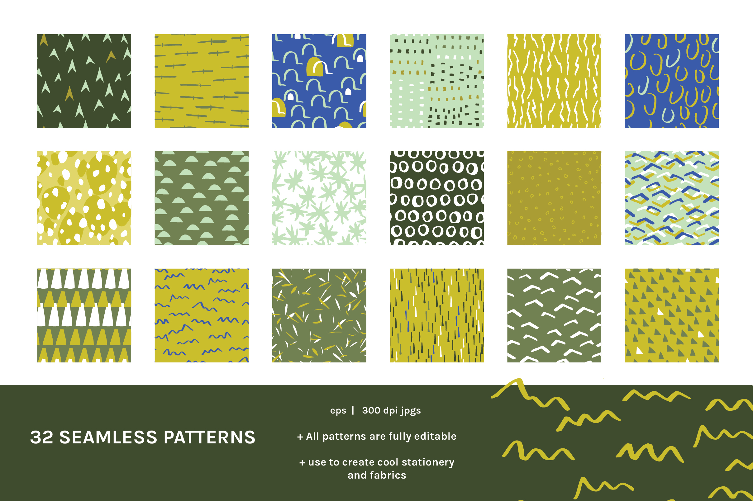 Lines Dots & Shapes Patterns And Art Boards