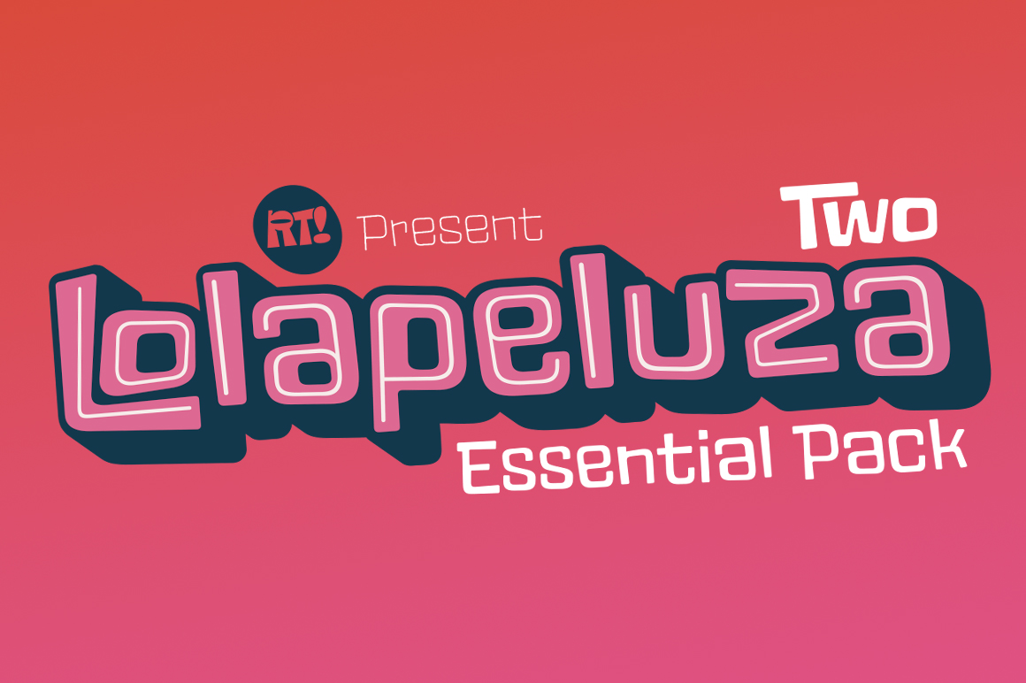 Lolapeluza Two Essential Pack