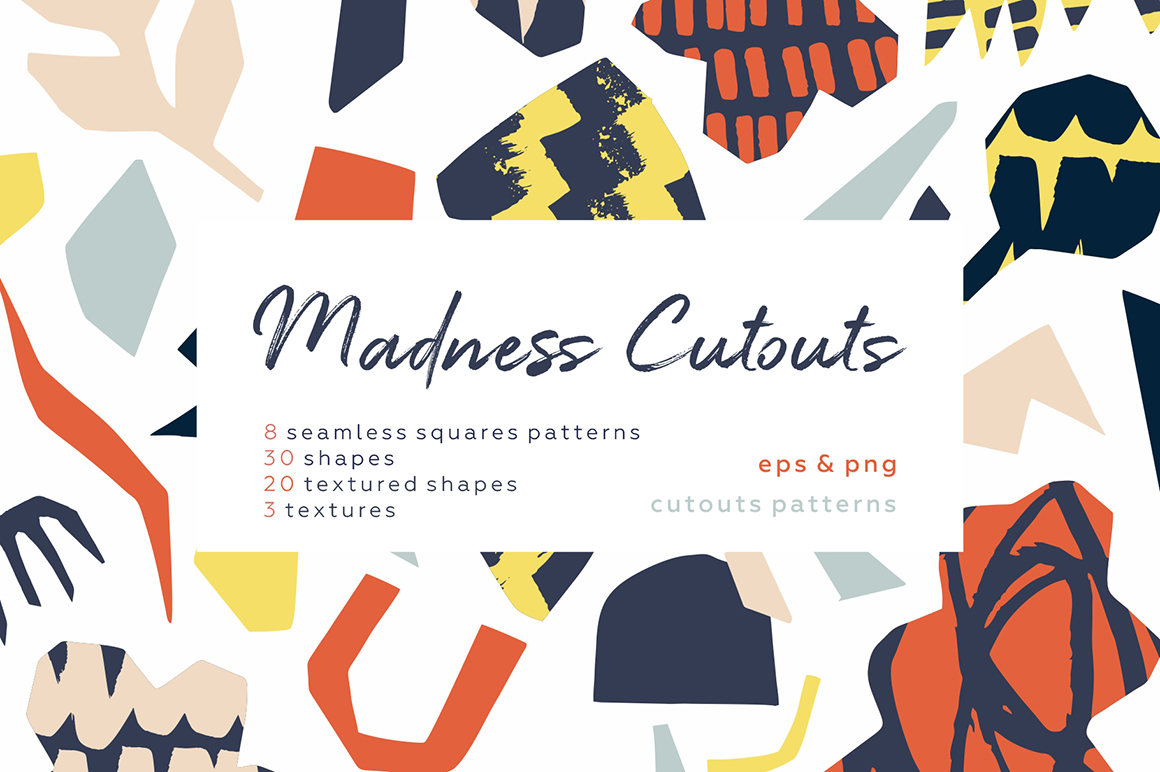 Madness Cutouts Patterns and Shapes