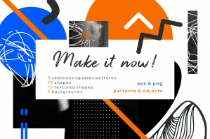 Make It - Geometric Collage Set