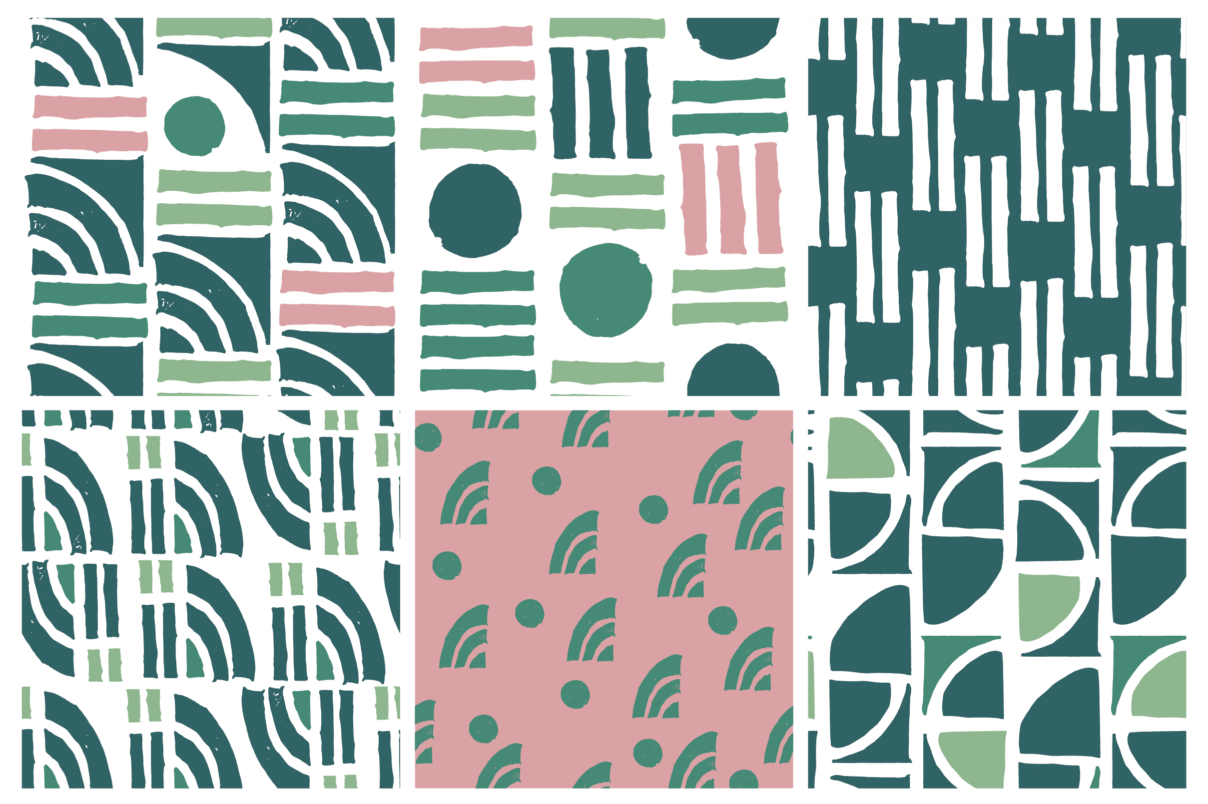 Minted Modern Patterns and Art Boards