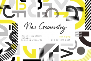 Neo Geometry Pattern Set