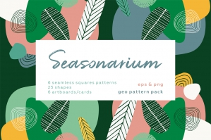 Seasonarium - Abstract Botanical Patterns