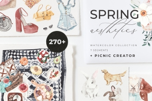 Spring Aesthetics and Picnic Creator