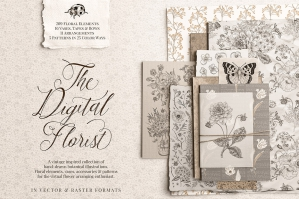 The Digital Florist - Vintage Inspired Botanicals