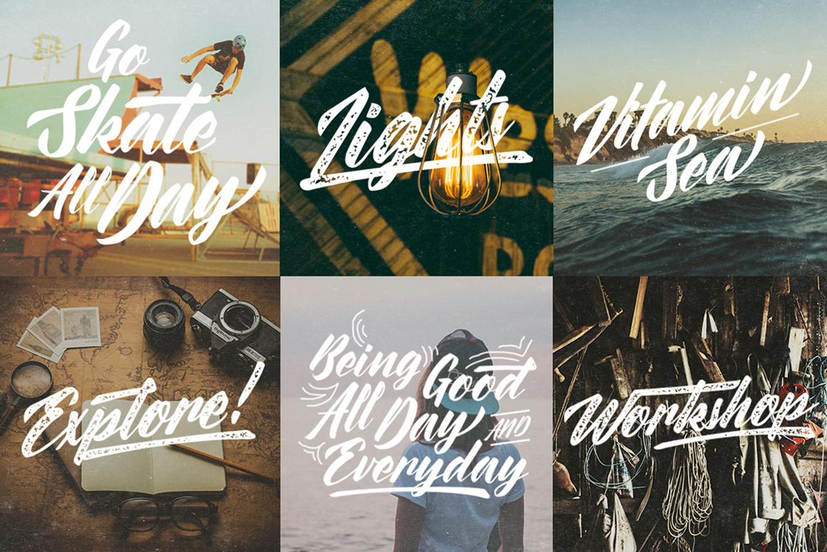 The Painter Font Family