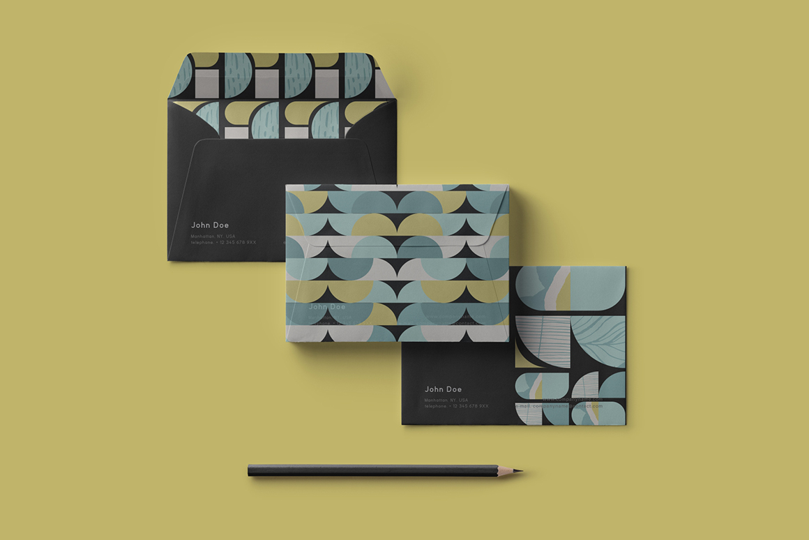Vintage Geometry Patterns Collection