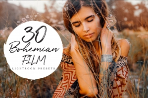 30 Bohemian Film Lightroom Presets