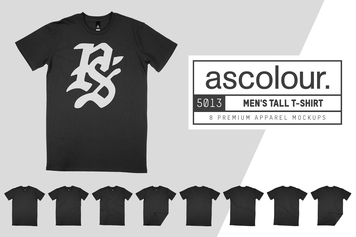 AS Colour 5013 Men's Tall Tee Mocks