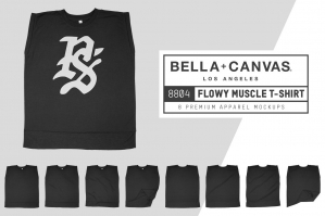 Bella Canvas 8804 Flowy Muscle Tee