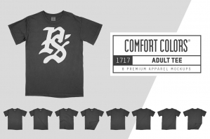 Comfort Colors 1717 Adult Tee Mocks