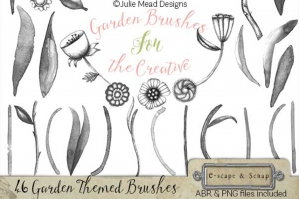 Garden Brushes For The Creative