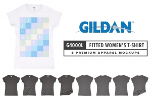 Gildan 64000L Women's Fitted T-Shirt