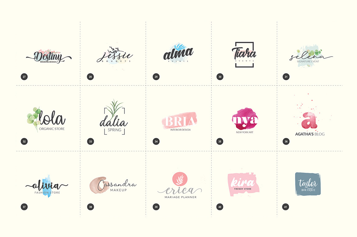 Logo Lady Collection - Starter Pack