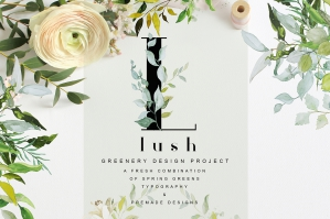 Lush - Greenery Art Project