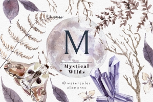Mystical Wilds Watercolor Set