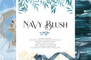 The Navy Blush Collection