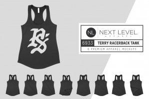 Next Level 6933 Terry Racerback Tank