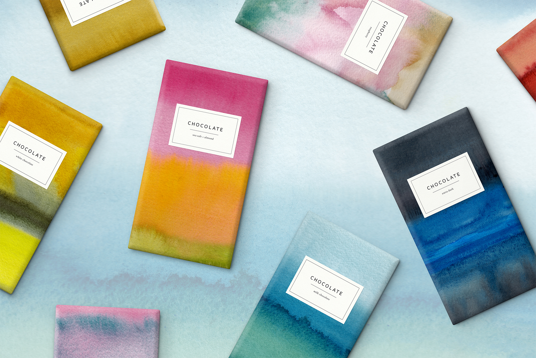 Ombre Watercolor Papers