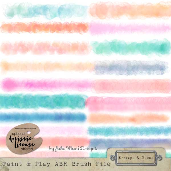 Paint And Play Brushes