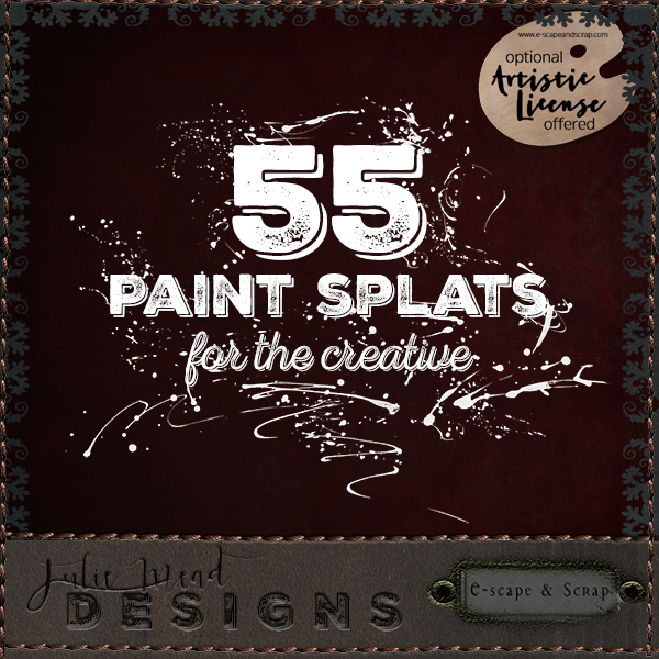Paint Splats For The Creative