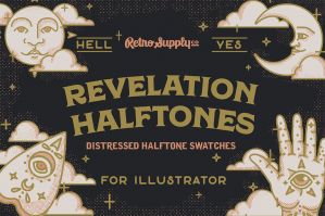 Revelation Halftones For Illustrator