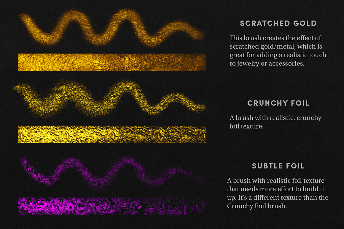 Shimmer Set - Procreate Brushes