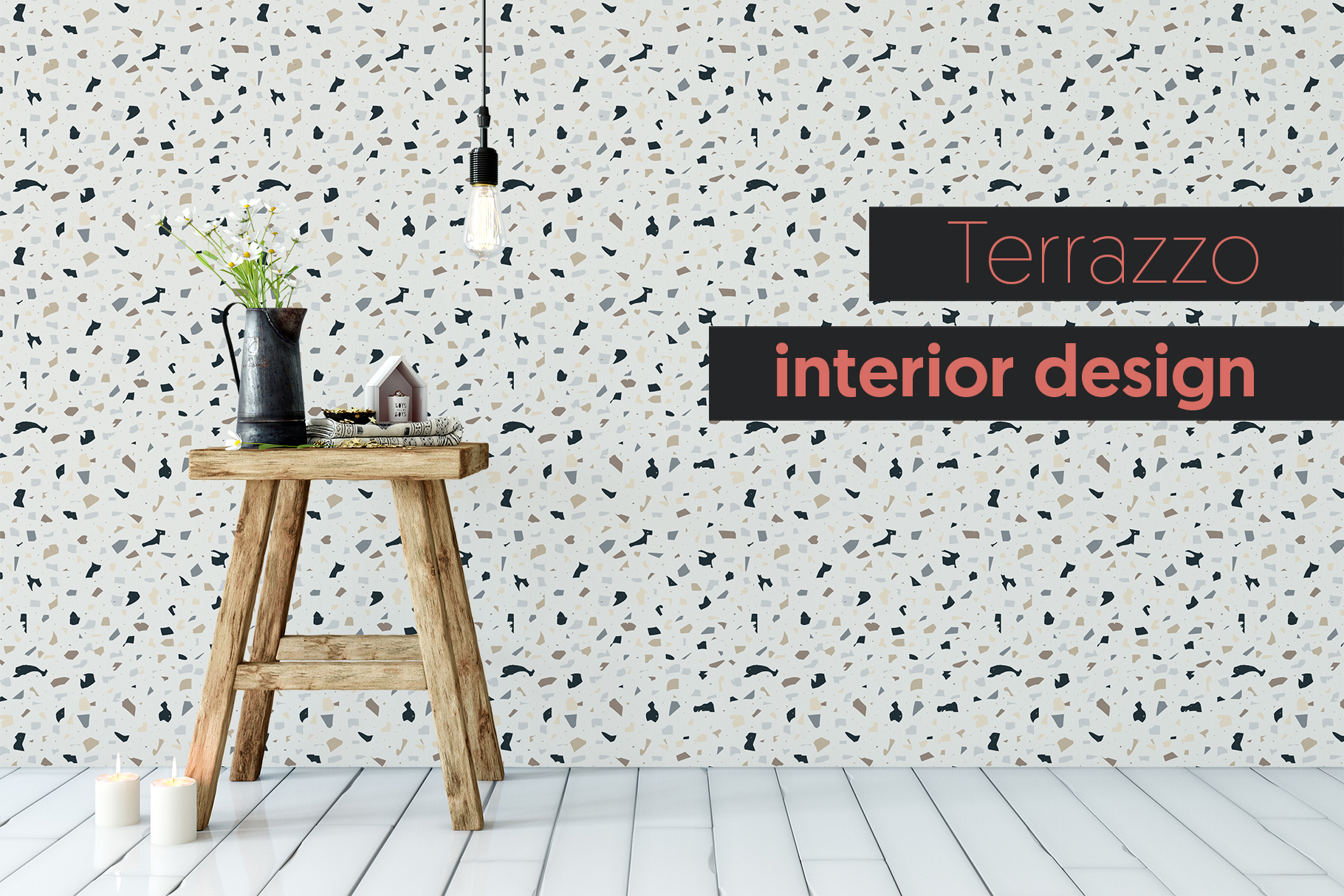 Terrazzo Seamless Patterns Collection
