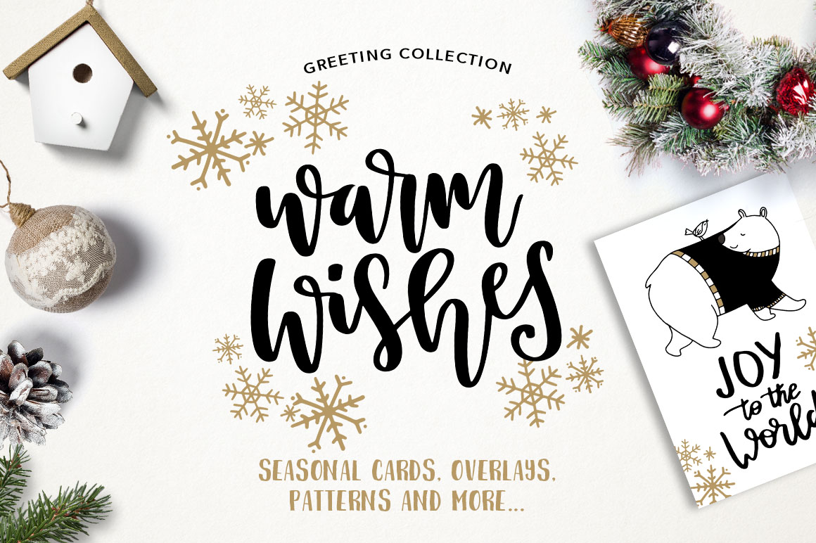 Warm Wishes Greeting Collection
