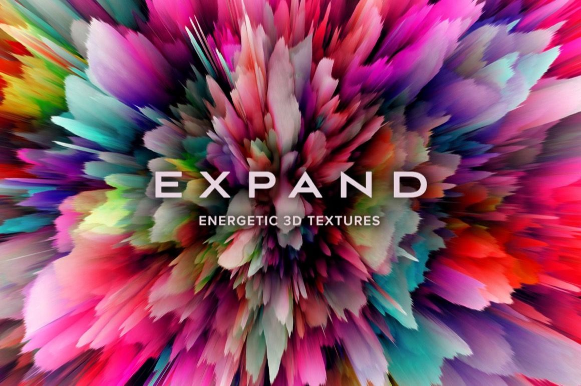 Totally Vibrant Textures and Patterns Bundle