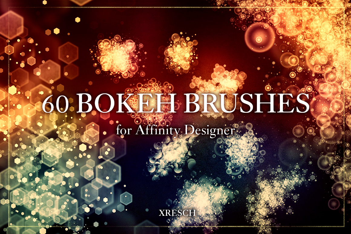 60 Bokeh Effect Brushes for Affinity