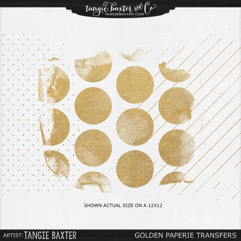 Golden Paperie Transfers