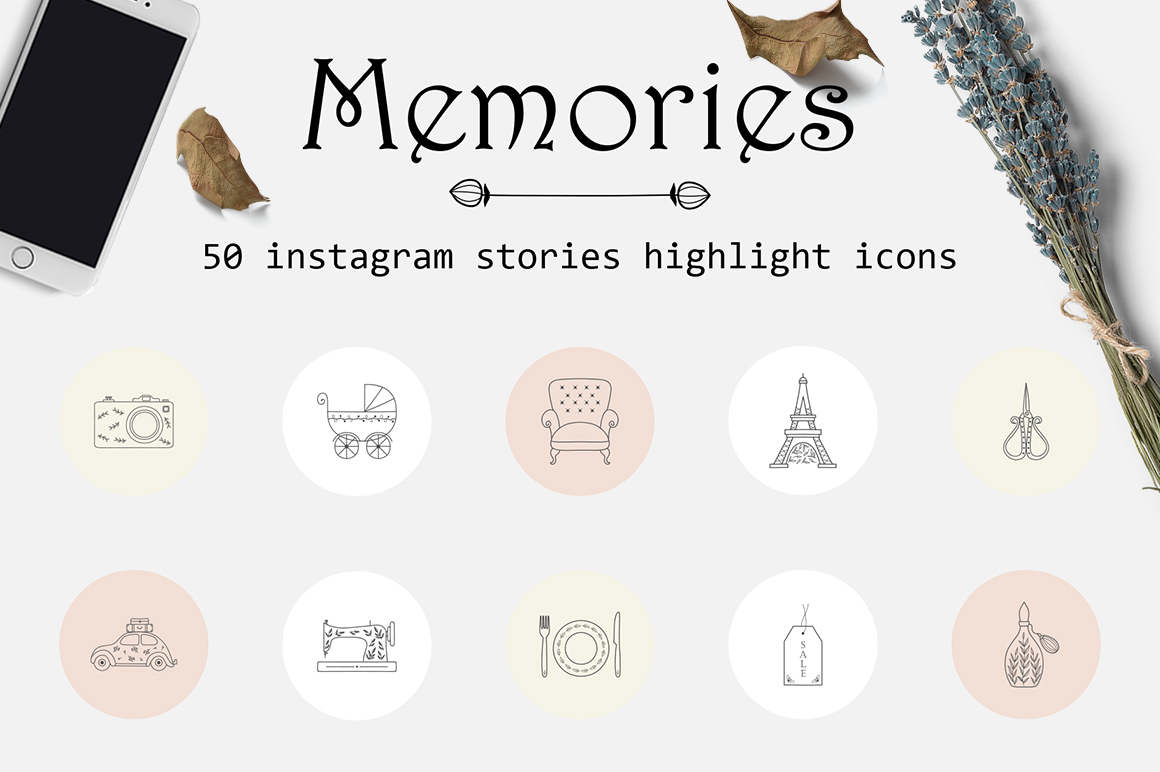 Memories - Instagram Highlights Icons