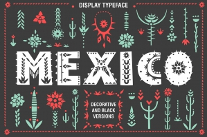 Mexico Decorative Font Family