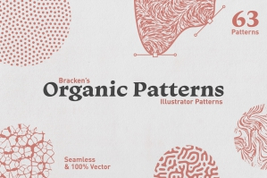 Organic Patterns - For Illustrator
