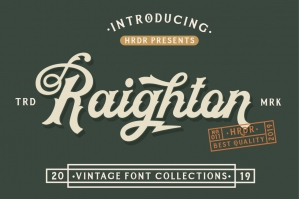 Raighton Font Collections