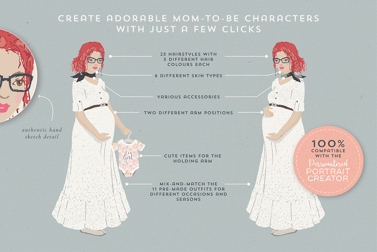 The Pregnant Portrait Creator