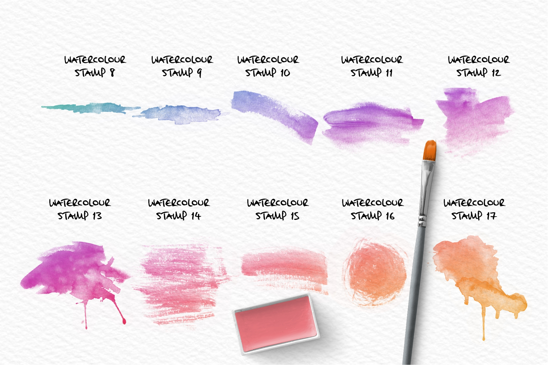 The Ultimate Watercolour Brush Pack For Procreate