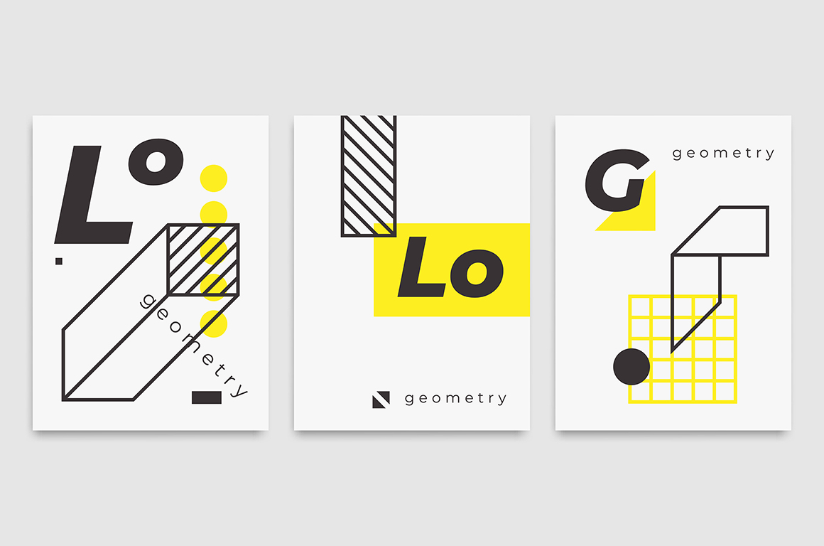 78 Geometric Shapes & 22 Posters