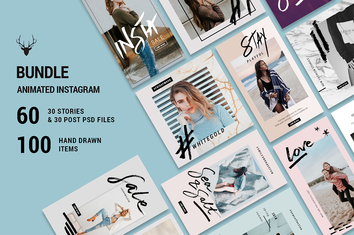 Animated Instagram Collection