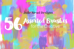 Assorted Brushes For The Creative