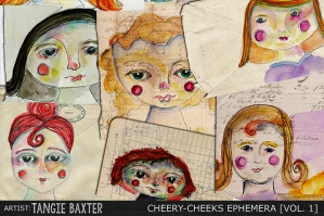 Cheery-Cheeks Ephemera Vol. 1