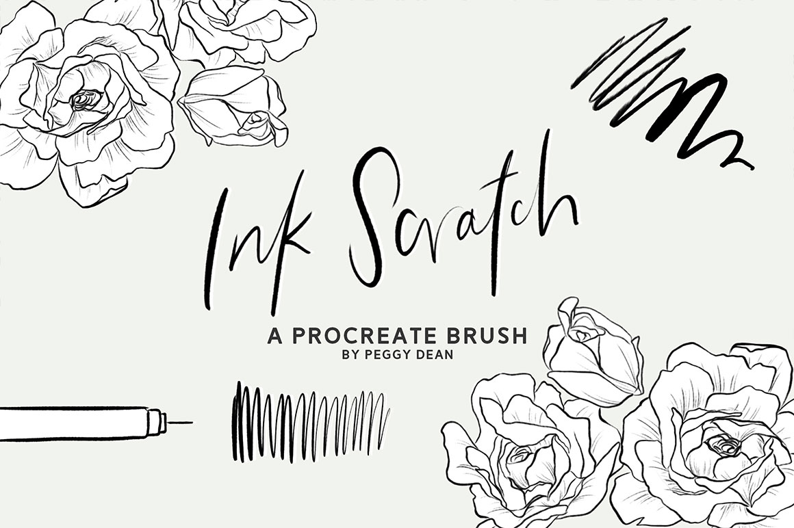 Drawing Ink Procreate Brush Pack