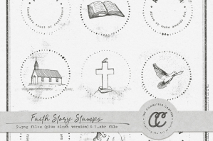 Faith Story Stamps