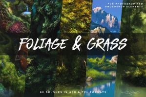 Foliage And Grass Brushes