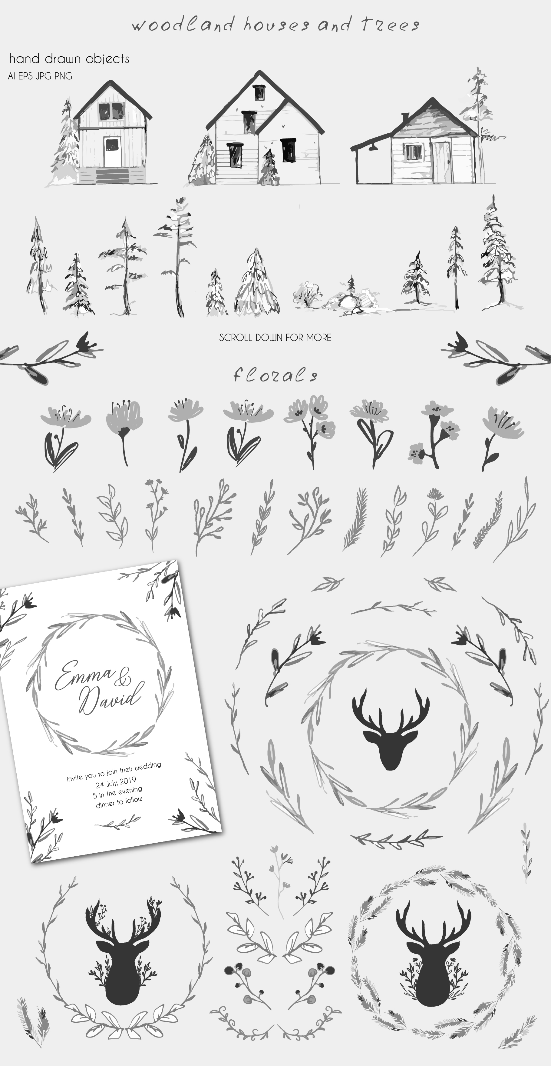 Forest Foliage Pattern Collection