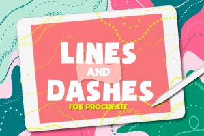Procreate Brushes Lines And Dashes