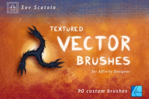 Textured Vector Brushes for Affinity Designer