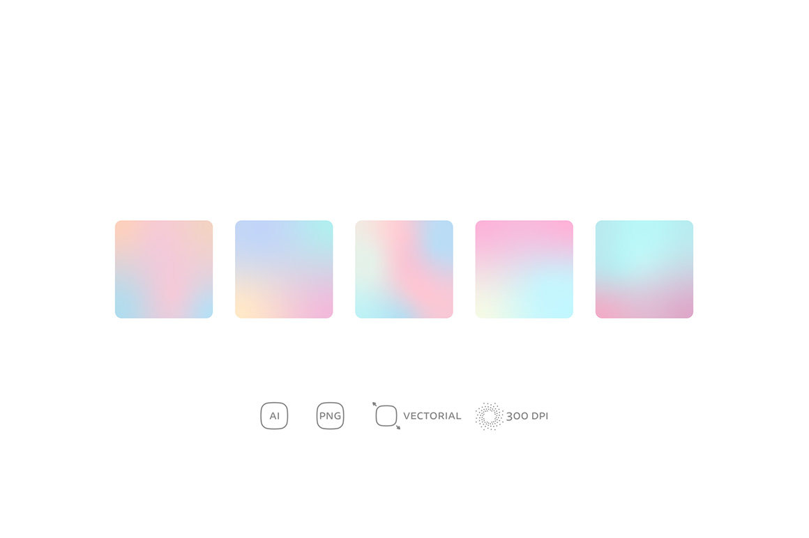 Pale Gradients