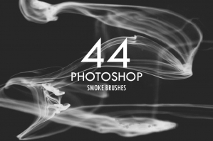 44 Photoshop Smoke Brushes
